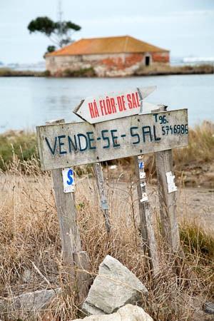 De zoutpannen van Ria de Aveiro