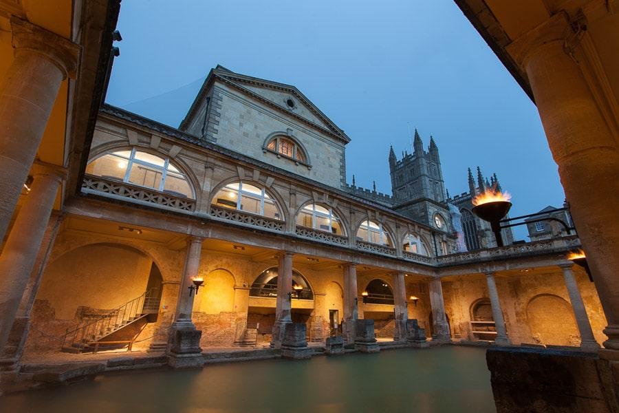 De Romeinse baden in Bath