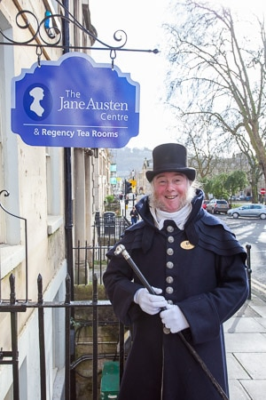 Het Jane Austen Centre in Bath